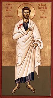 Hl. Justinus Filosofen & Martyren