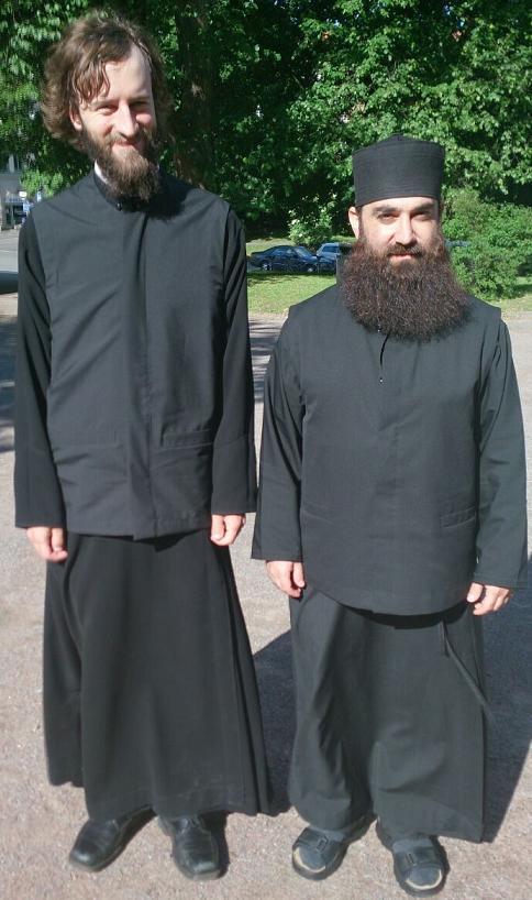 Fr. Mikael och Fr. Jean