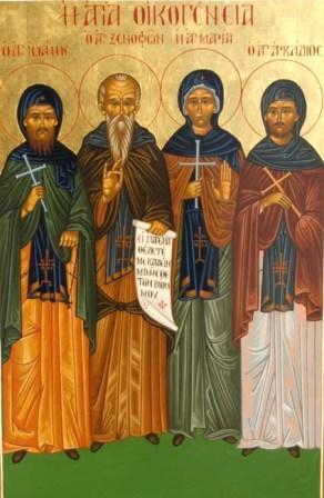Xenofon och hans familj