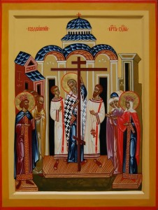 Korsets upphöjelse