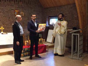 Vi tackar Vasakyrkan för deras gästvänlighet.