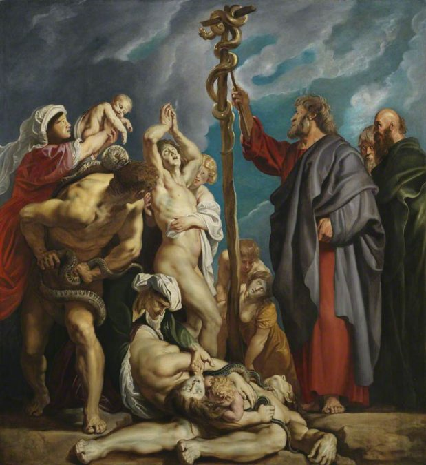 Predikan: kopparormens evangelium