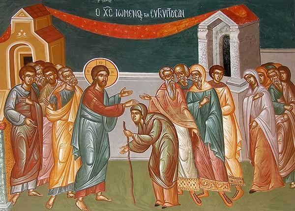 Predikan: Gud ser dig och vill resa dig upp (Luk 13:10-17)