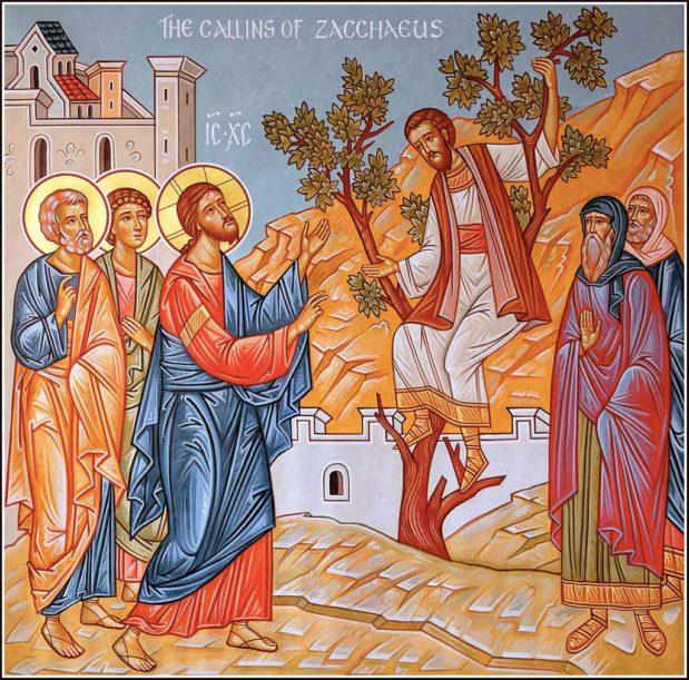 Predikan: Sackeus och nåden