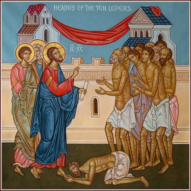 Predikan: varken jude eller grek, bara tacksamhet!