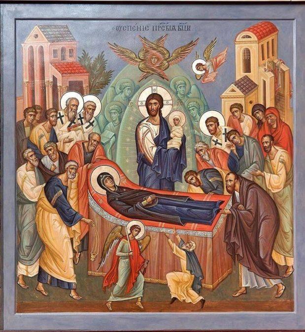Predikan: Guds Moder, vår främsta förebild