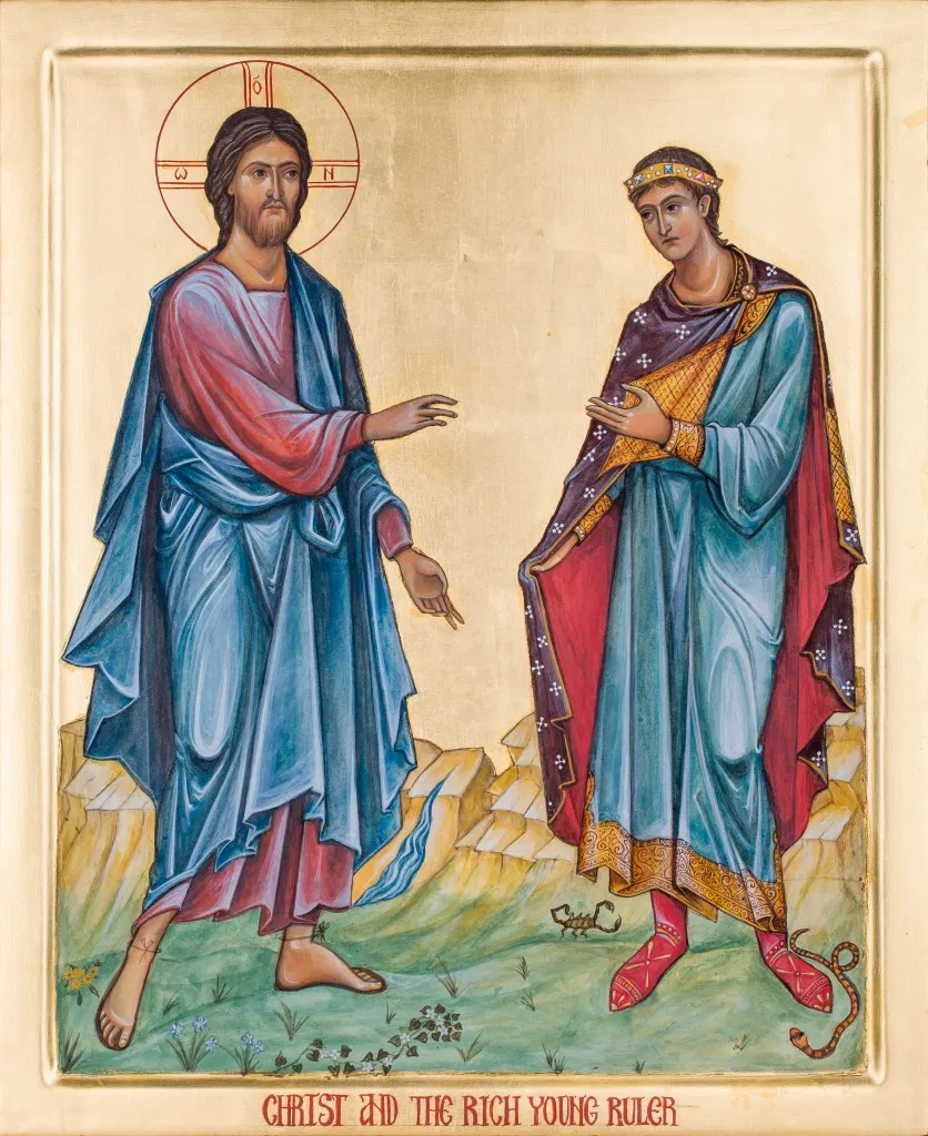 With permission from iconographer Katherine Sanders at www.katherinesandersicons.com